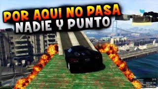 """POR AQUÍ NO PASA NADIE Y PUNTO """"GTA V ONLINE"""""""