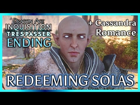 Dragon Age Inquisition ► TRESPASSER ENDING + EPILOGUE - Redeeming Solas & Disbanding the Inquisition