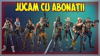🔴Vom juca cu abonatii (DELAY 2 MINUTE) - Fortnite Romania [Live #254]