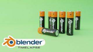 AA Size Battery 3D Model Free Download | Free 3D Models