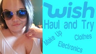 Wish Haul and Try - Bonus:  Trying 3 Second Brows