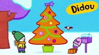 Dessin animé de Noël - Didou, dessine-moi un sapin de Noël | Dessins animés pour les enfants