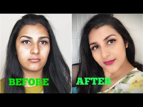 How To Avoid Cakey Foundation - DO'S & DON'T,how to do glowy makeup on Indian Skintone