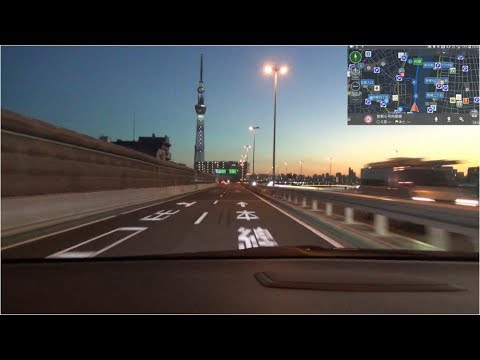 【HD等倍】 東京 イルミネーション巡りドライブ 「Tokyo Illuminations Tour Drive」