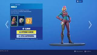 FORTNITE SHOP DI OGGI 20 AGOSTO NUOVA SKIN DECISIONISTA ITEM SHOP TODAY ITA