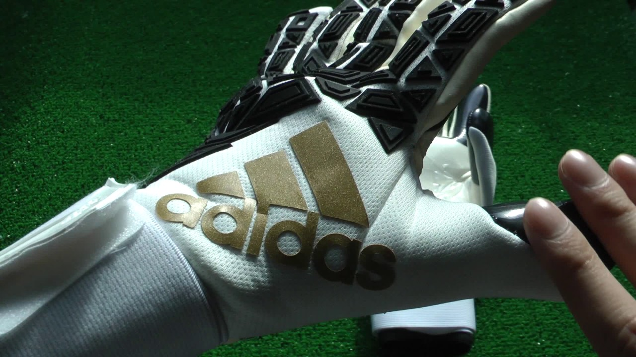 Adidas Ace Transition Pro Goalkeeper Glove White and Gold Preview