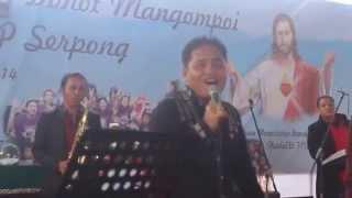 """Hiburan dari Trio Manalu/Aleksis """"Tangiang Ni Dainang"""" di Pesta MBOM HKBP Serpong. Mp3"""