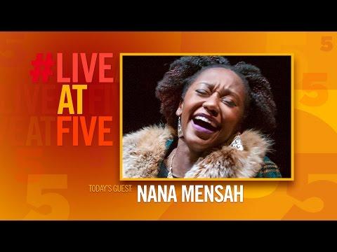 Broadway.com #LiveatFive with Nana Mensah of MAN FROM NEBRASKA