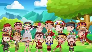 動畫-人物設計-原住民16族公仔娃娃設計