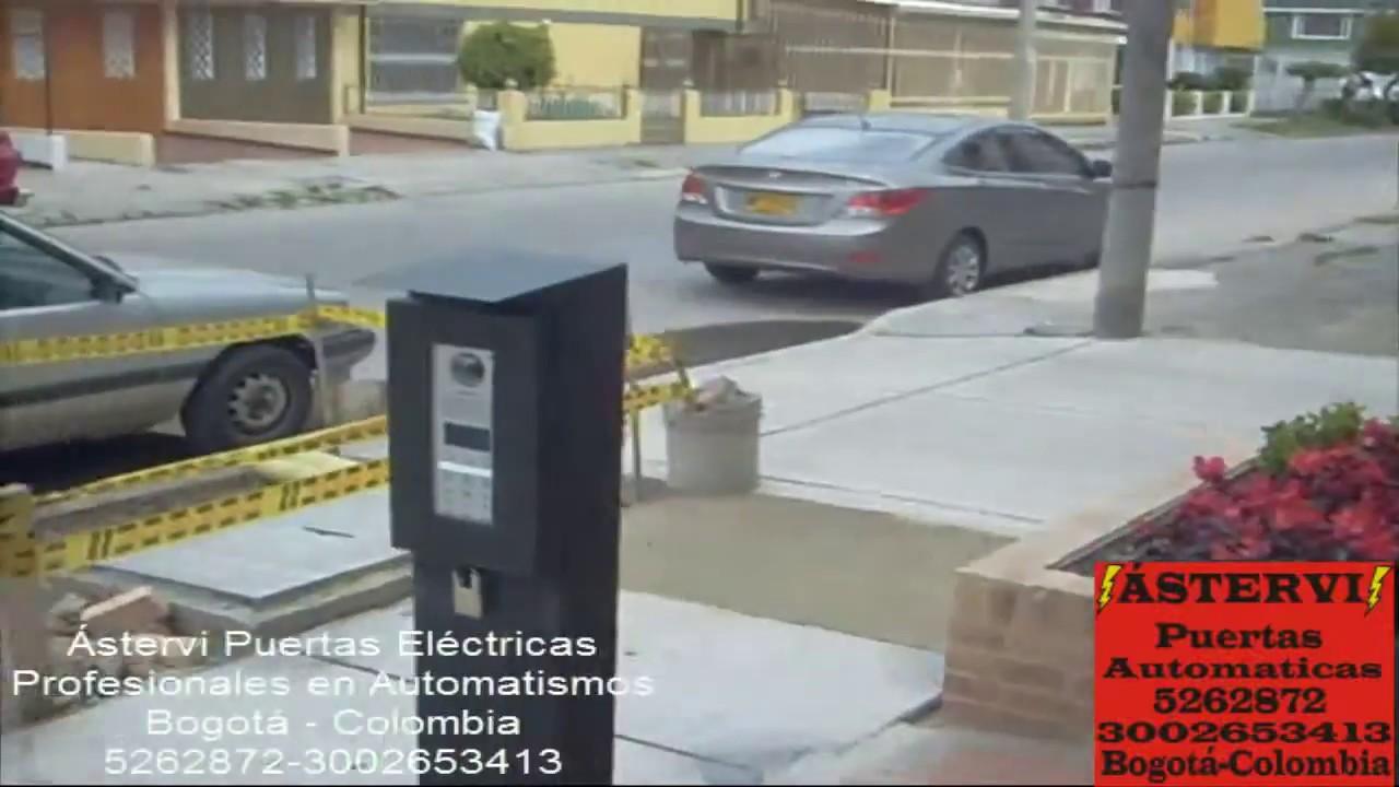 Puerta automatica de dos hojas youtube - Puertas de dos hojas ...
