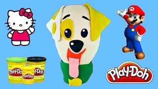 HUGE Puppy Surprise Egg Bubble Guppies - Super Mario, Hello Kitty, Play Doh, MLP, LPS Opening Eggs