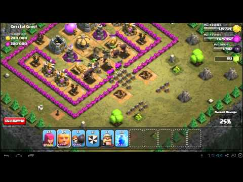 Clash of Clans Crystal Crust 3 Star Campaign Guide: TH7 Strategy