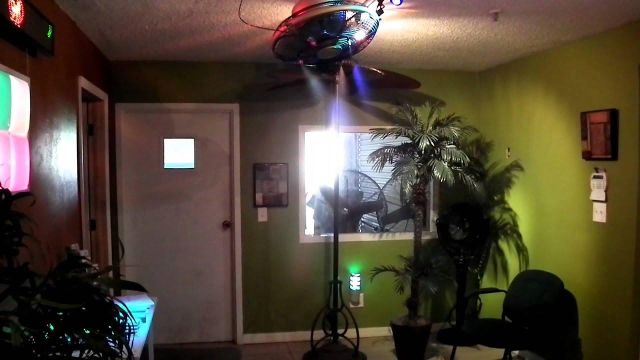 Fanimation oscillating mist ceiling fan