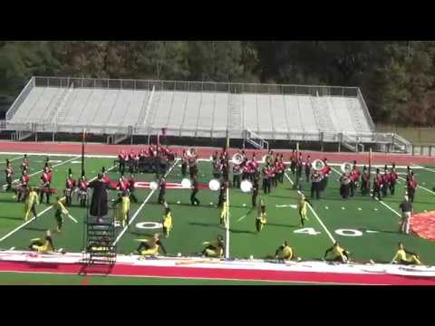 South Pontotoc High School Marching Band 2017 State Contest