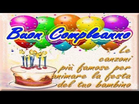 buon compleanno - le canzoni più famose per animare la festa del tuo