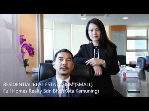 NREA 2015 - Residential Real Estate Firm (Small) //  Full Homes Realty (Kota Kemuning)