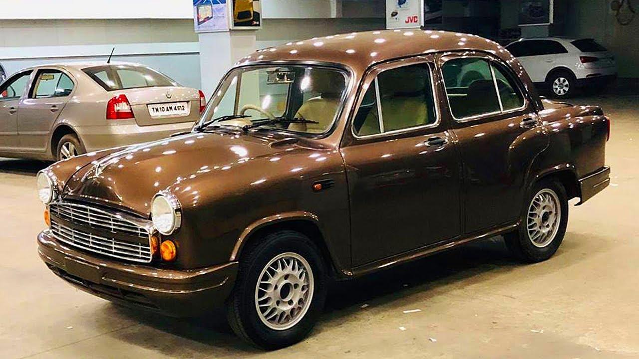 Ambassador Fully Restoration    Ambassador Car modified In India    CAR CARE TIPS   