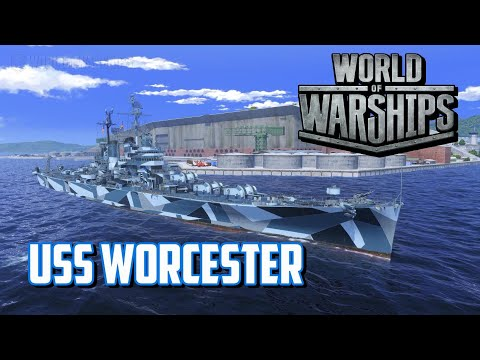 World of Warships - USS Worcester