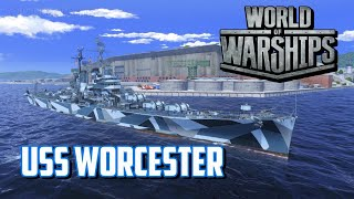 World of Warships - USS Worcester thumbnail