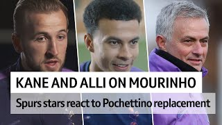 Kane and Alli's reaction to swapping Pochettino for Mourinho
