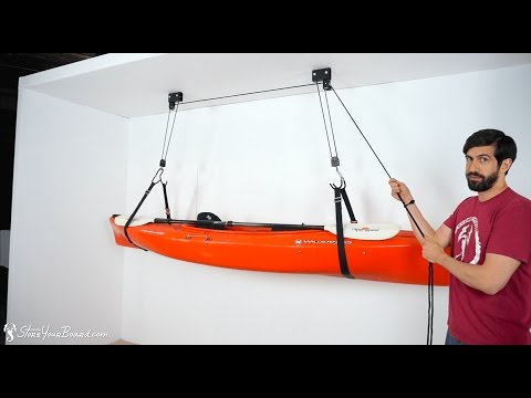 Kayak and Canoe Hoist | StoreYourBoard