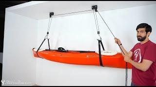 Kayak and Canoe Hoist | StoreYourBoard