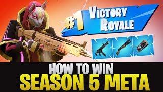 HOW TO WIN | Season 5 Meta (Fortnite Battle Royale)