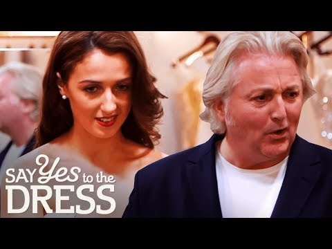 'You Look Like a Rugby Player!' | Say Yes To The Dress UK. http://bit.ly/2JHxj9e
