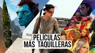 10 películas más taquilleras de la historia del cine