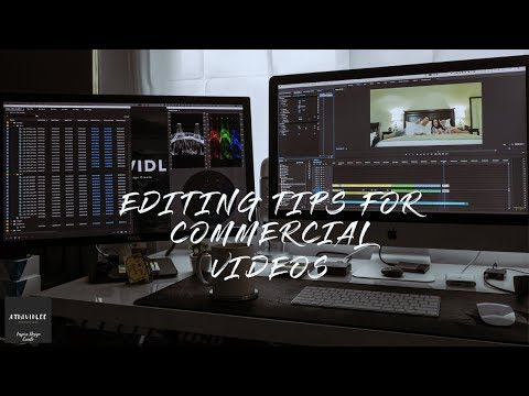 How I Edit Commercials Premiere Pro