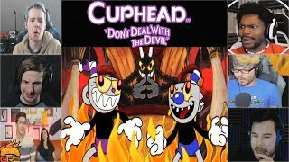Gamers Reactions to the Bad Ending (Devil) | Cuphead