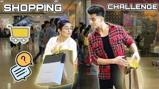 SHOPPING CHALLENGE 🥶🥵🤯 !! Ft. Anirudh Sharma || Gujju Unicorn
