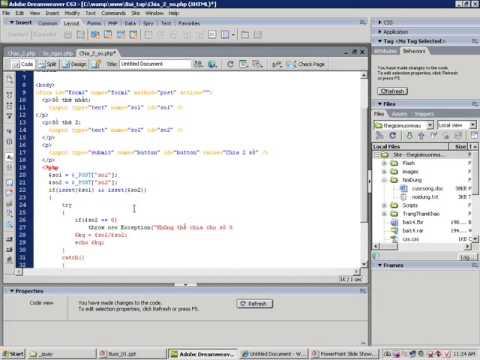 Lập trình ứng dụng WEB với PHP  | FPTIDC.com.vn lThue server | Thue may chu