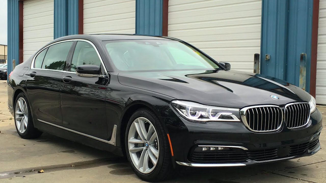 2016 Bmw 7 Series 750i Full Review Start Up Exhaust