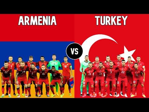Armenia Vs Turkey Football National Teams 2021