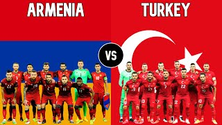Armenia vs Turkey Football National Teams 2021