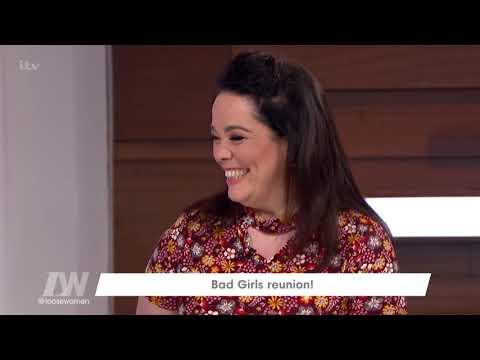 Debra Stephenson Talks Bad Girls With Claire King  Loose Women
