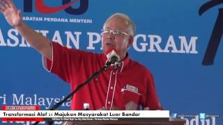 Transformasi Alaf 21 Majukan Masyarakat Luar Bandar - Najib