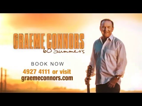 Graeme Connors 60 Summers - Pilbeam Theatre 1 June 2016
