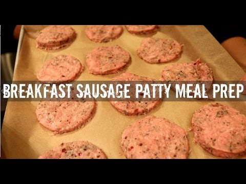 How to make sausage patties in the oven
