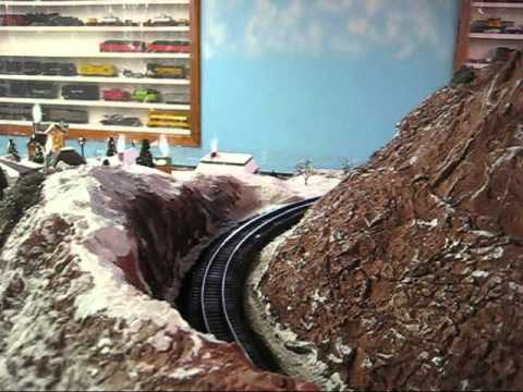 Ray Puls American Flyer S Gauge Home Layout, Operating Session, March 19, 2016.