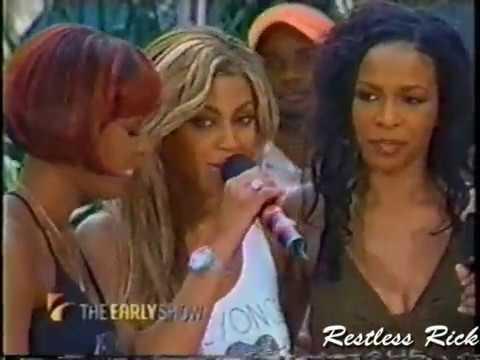 Destiny's Child LIVE - Survivor, Bootylicious, Emotion (2001)