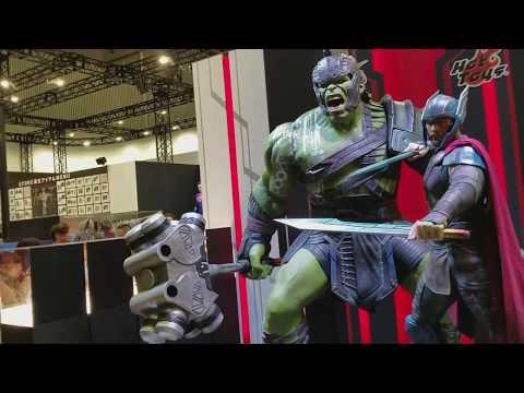 Tokyo Comicon Hot Toys Booth Tour part 1