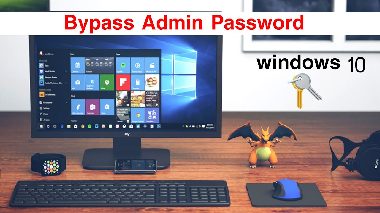 Easy way to bypass windows 10 Admin Password ! - Windows 10 Support