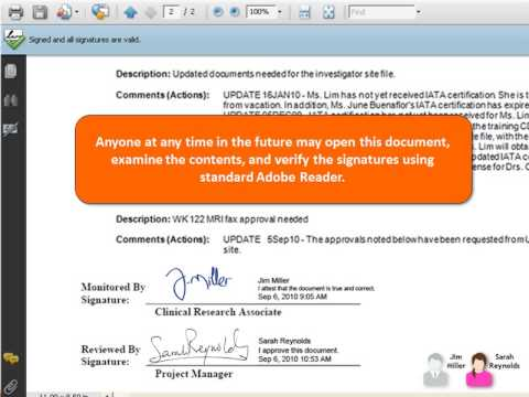 Digital Signatures with Microsoft SharePoint 2010 Demo - YouTube