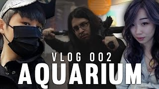 Imaqtpie - REAL LIFE SAMURAI! A DAY AT THE AQUARIUM VLOG #2