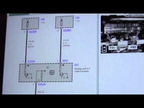 panel wiring diagram reversing switch bmw x5 e53 heater control air conditioning diagnosis - youtube