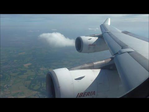 Iberia Airbus A340-313 | Madrid to London Heathrow *Full Flight*