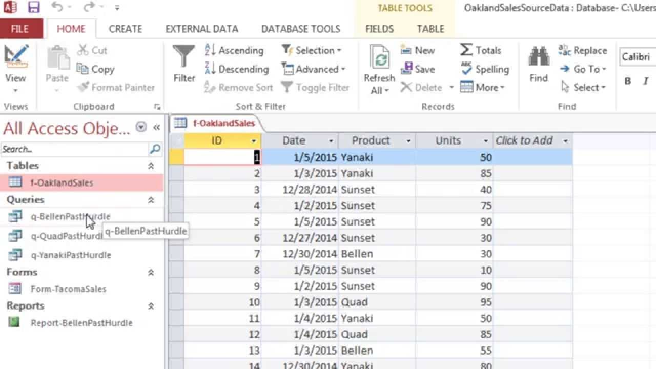 How to Access VBA to Create an Excel Spreadsheet