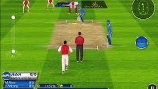 Best Cricket game for Android Tablets and smartphones